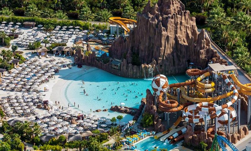 Аквапарк в The Land Of Legends Kingdom Hotel