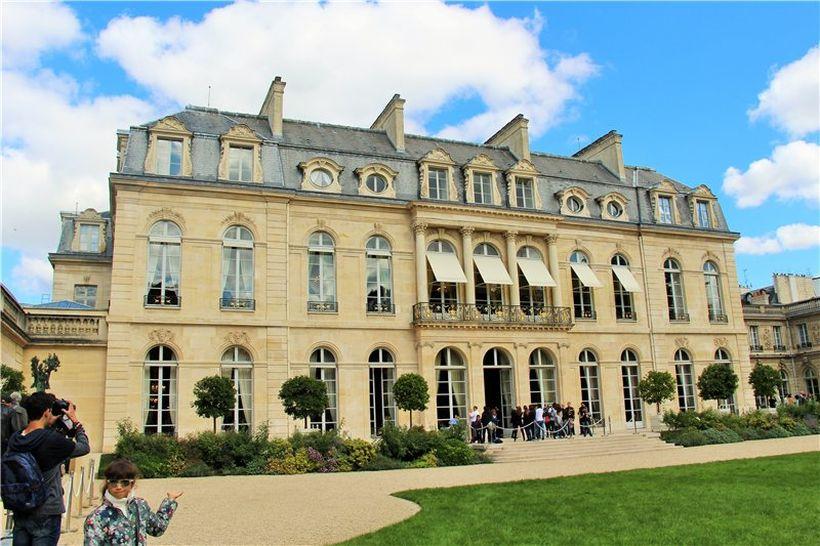 Елисейский дворец Париж