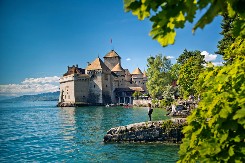 Женевское озеро (Швейцария и Франция)