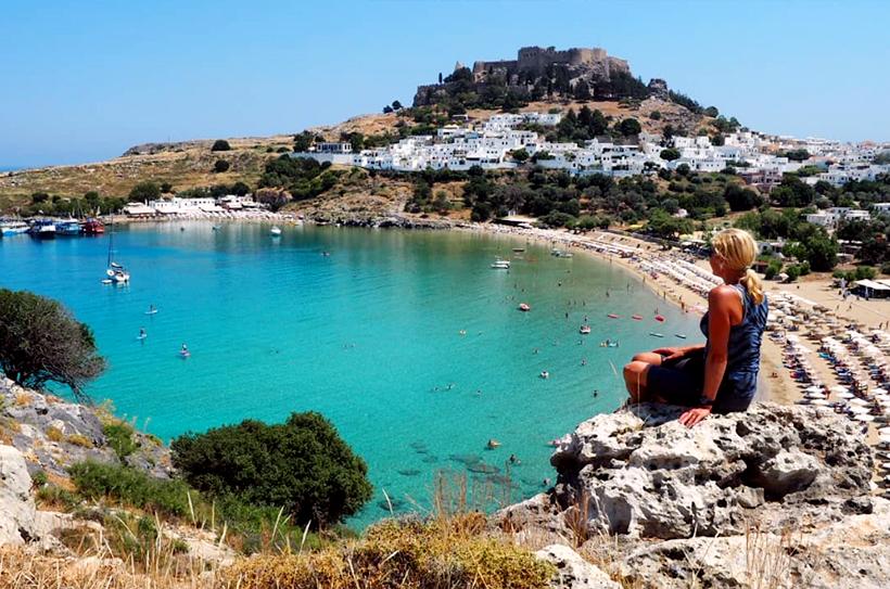 Линдос, Родос, Греция