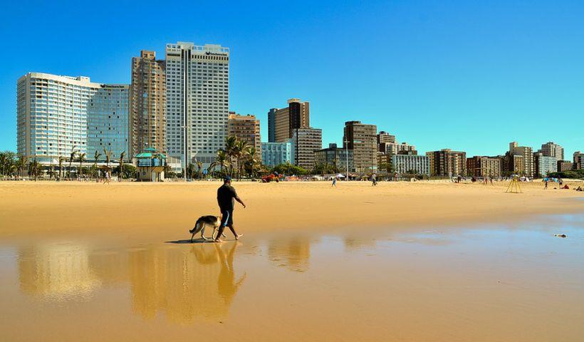 Пляж в Дурбане