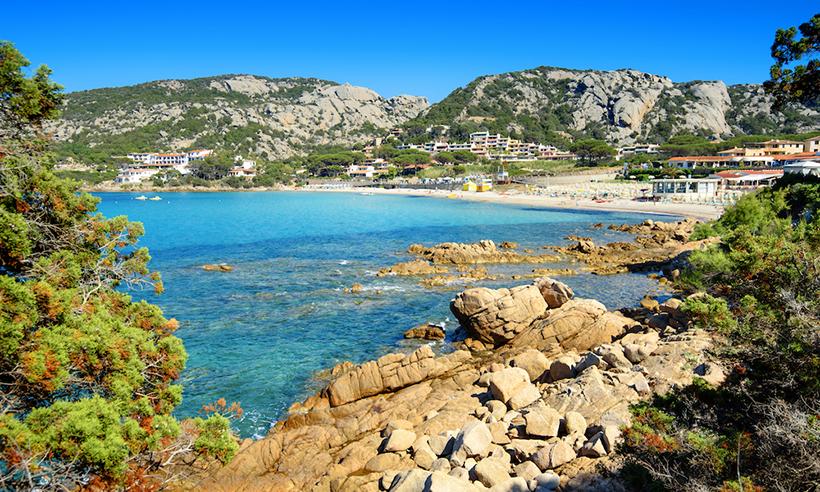 пляж Байя-Сардиния
