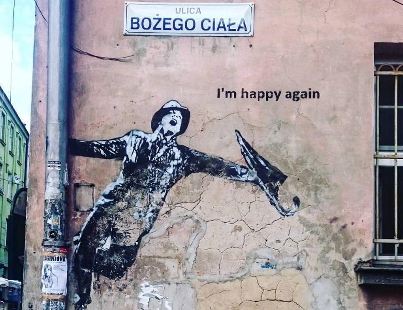Стрит-арт в Кракове