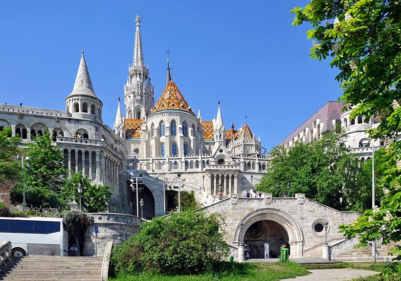 Рыбацкий Бастион. Будапешт