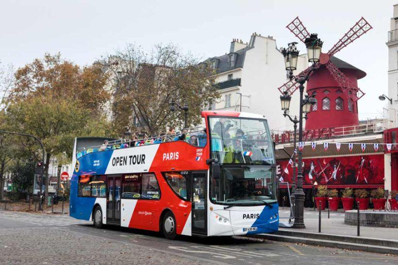 Туристический автобус Париж