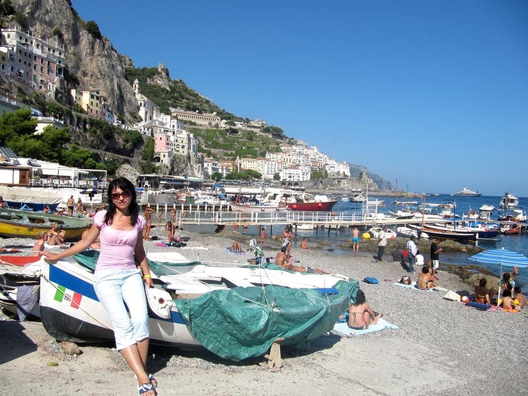 Побережье Амальфи и Сицилия