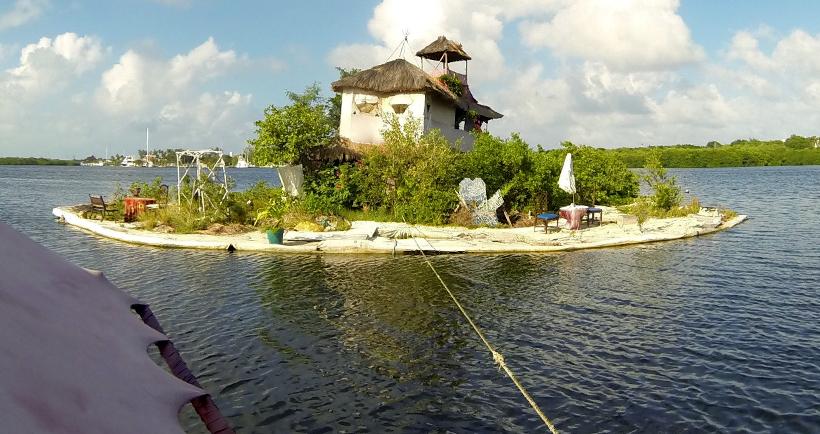 Спиральный остров, Мексика