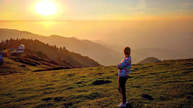Подняться на гору Гомис мта и встретить там закат