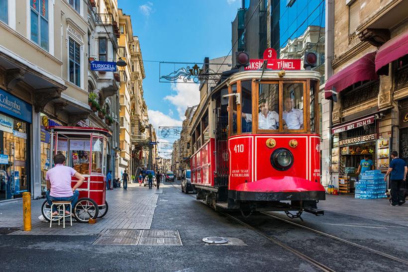 Трамвай в Стамуле