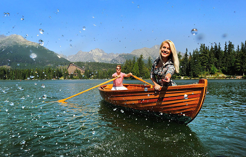 Озеро Штрбске Плесо