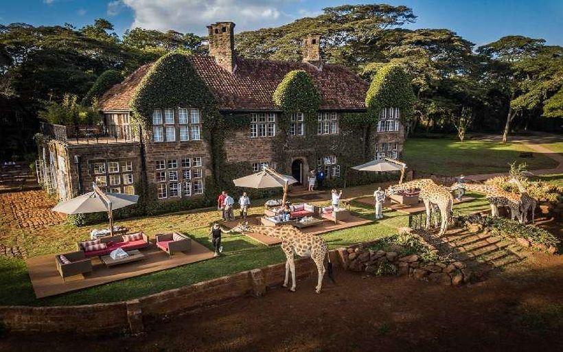 отель Giraffe manor