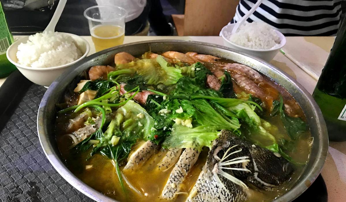 Еда на о. Хайнань