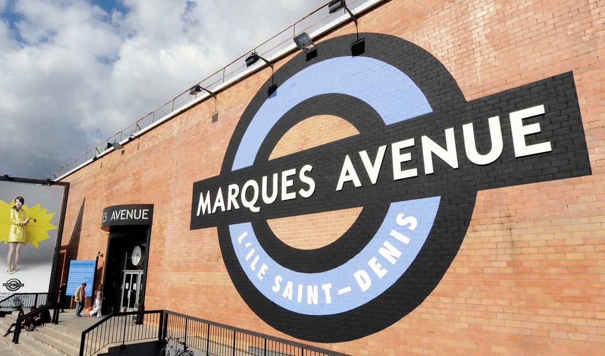 Marques Avenue: L'Ile Saint Denis
