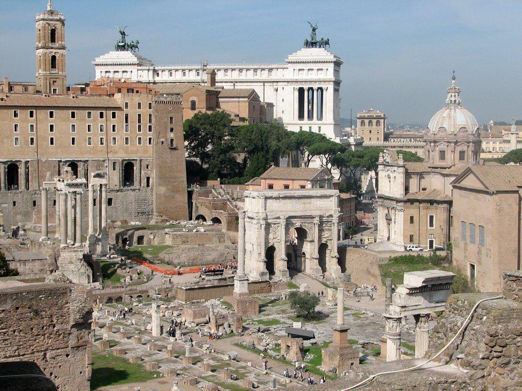 Палантин. Рим
