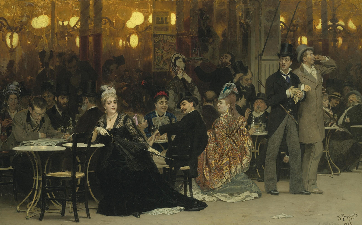 Парижское кафе»