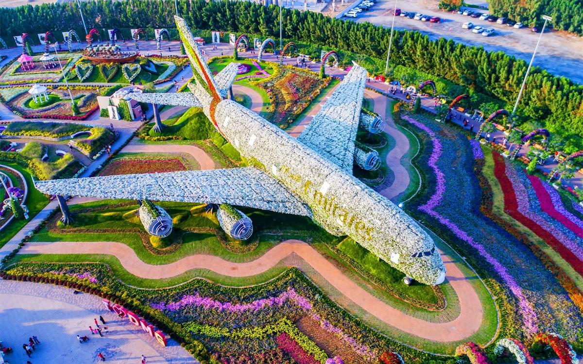 ботанический сад Дубаи