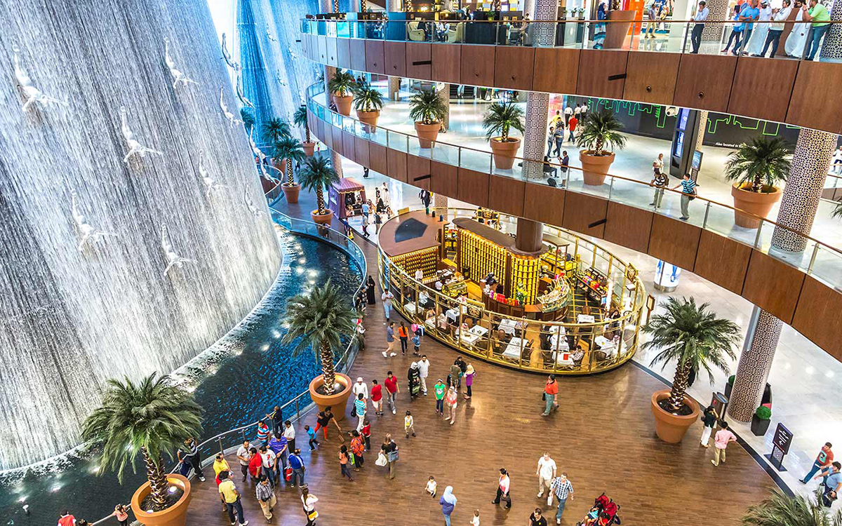 Торговые центры в Дубаи