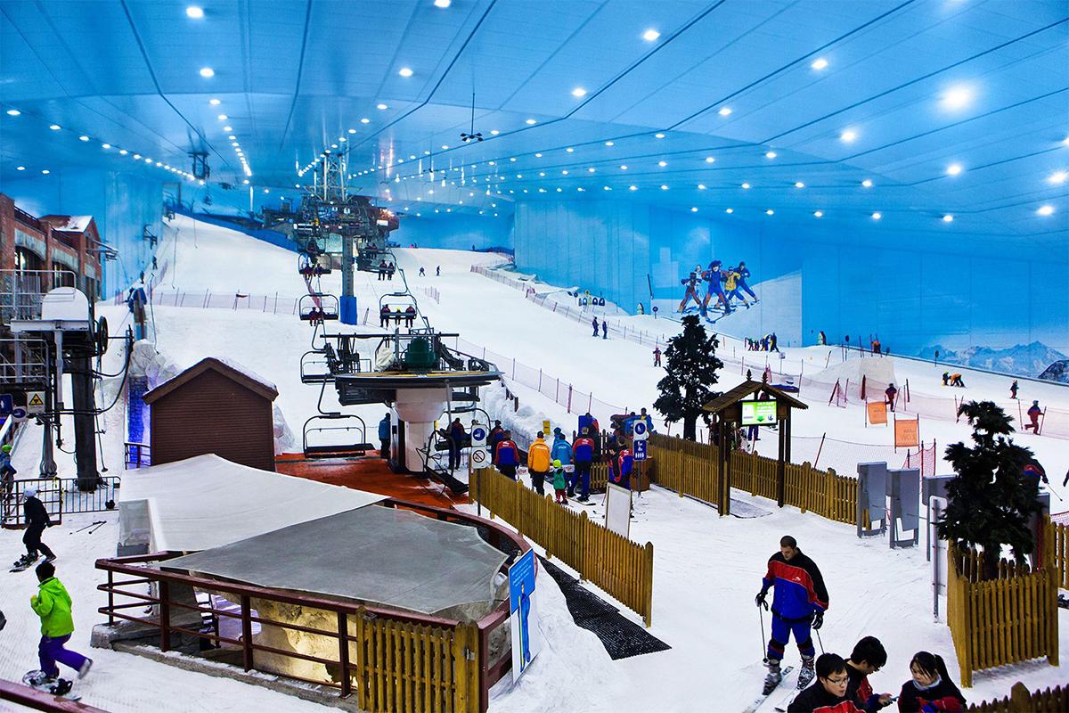 Горнолыжный комплекс «Ски Дубай»