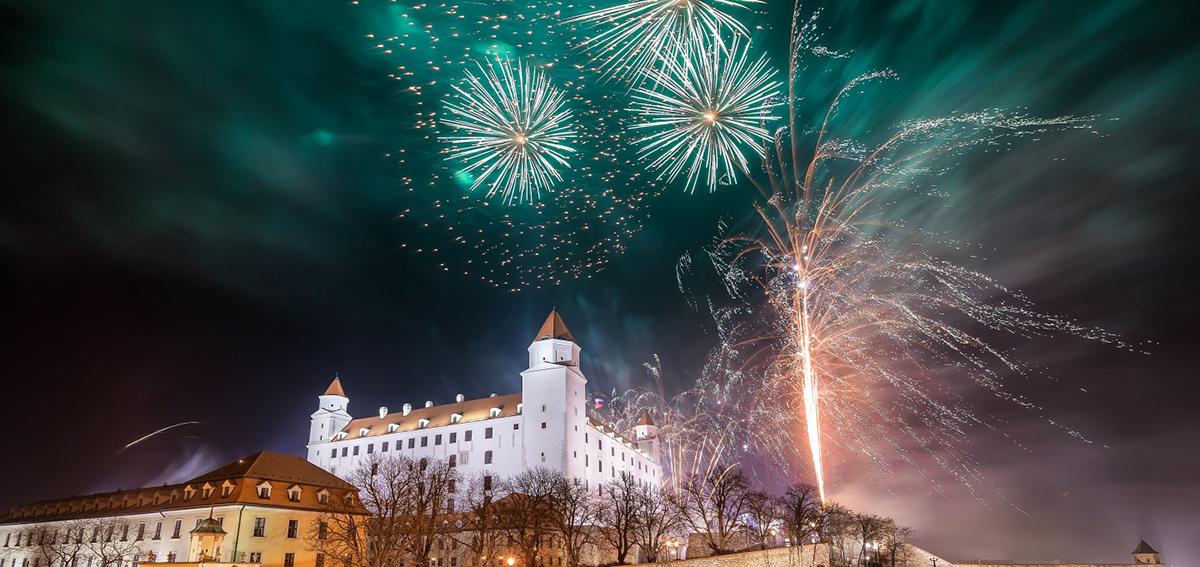 Новый год в Братиславе