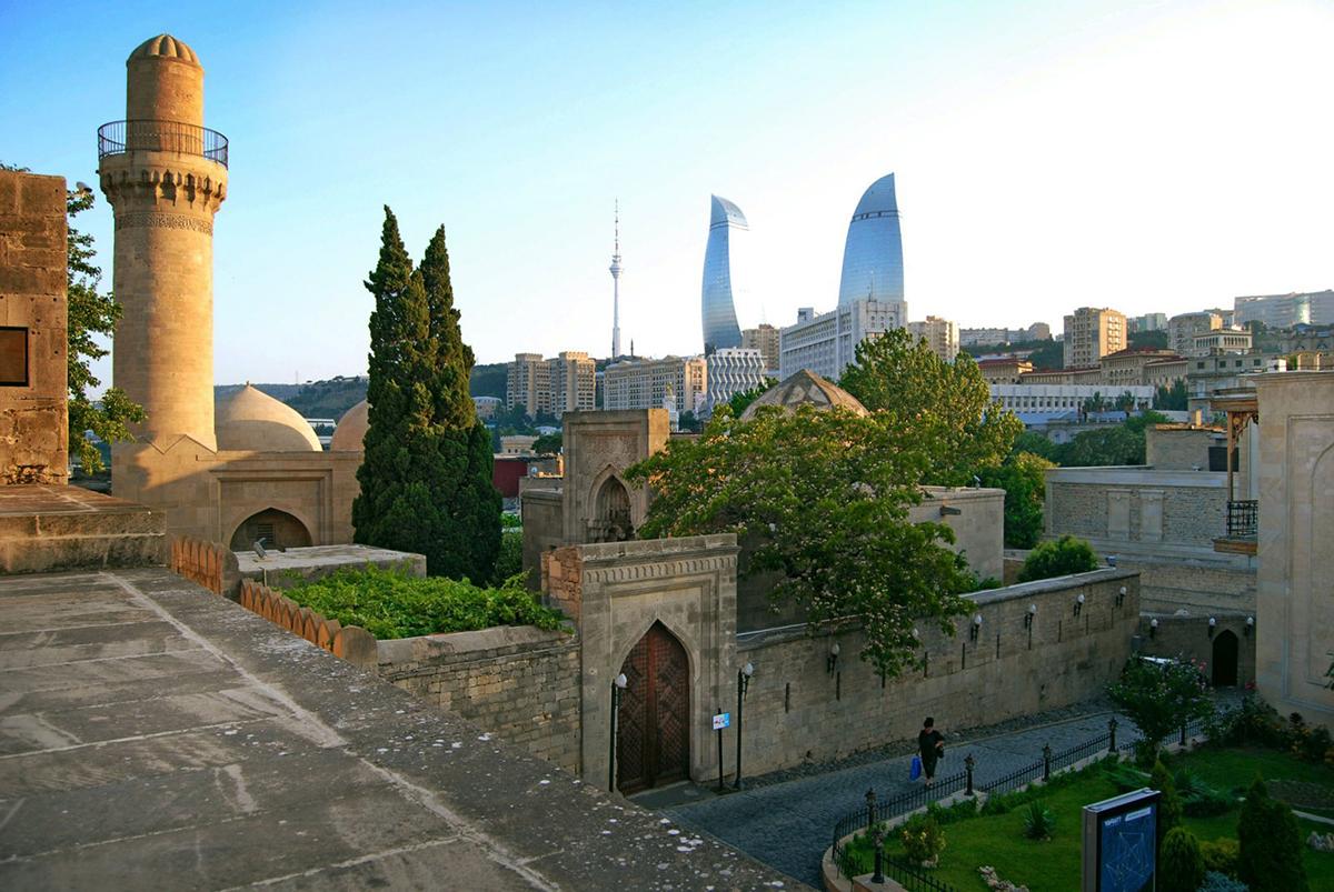Старинный квартал Баку