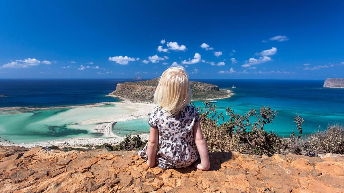 Пляж Балос в Греции