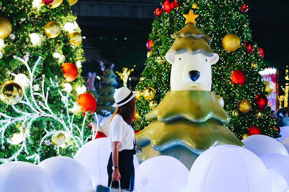 Новый год в Бангкоке ТЦ CentralWorld