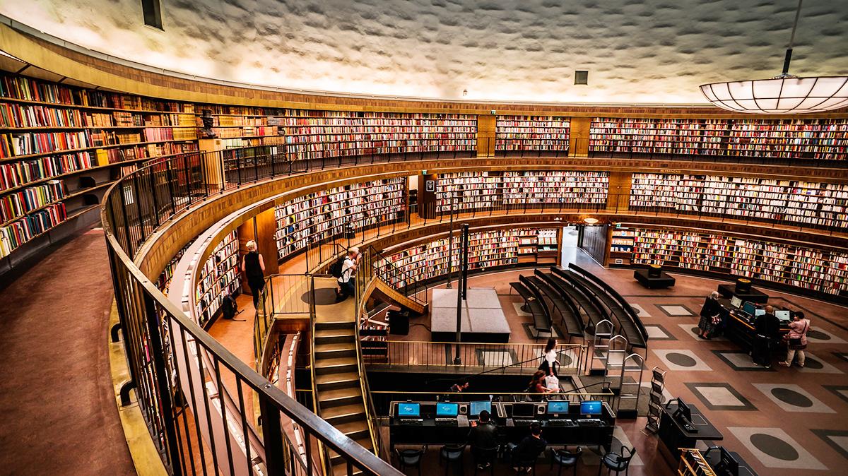 Стокгольмская публичная библиотека