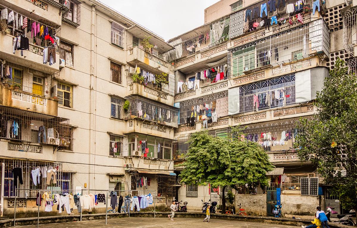 Жилые многоквартирные дома в Санье