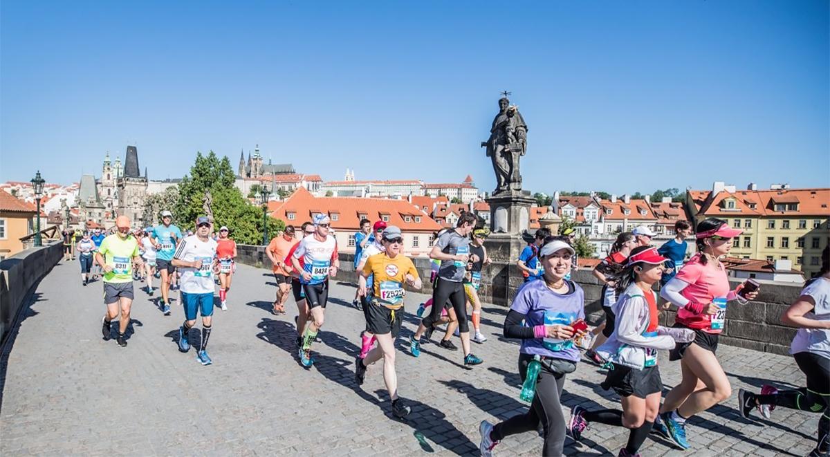Марафон в Праге