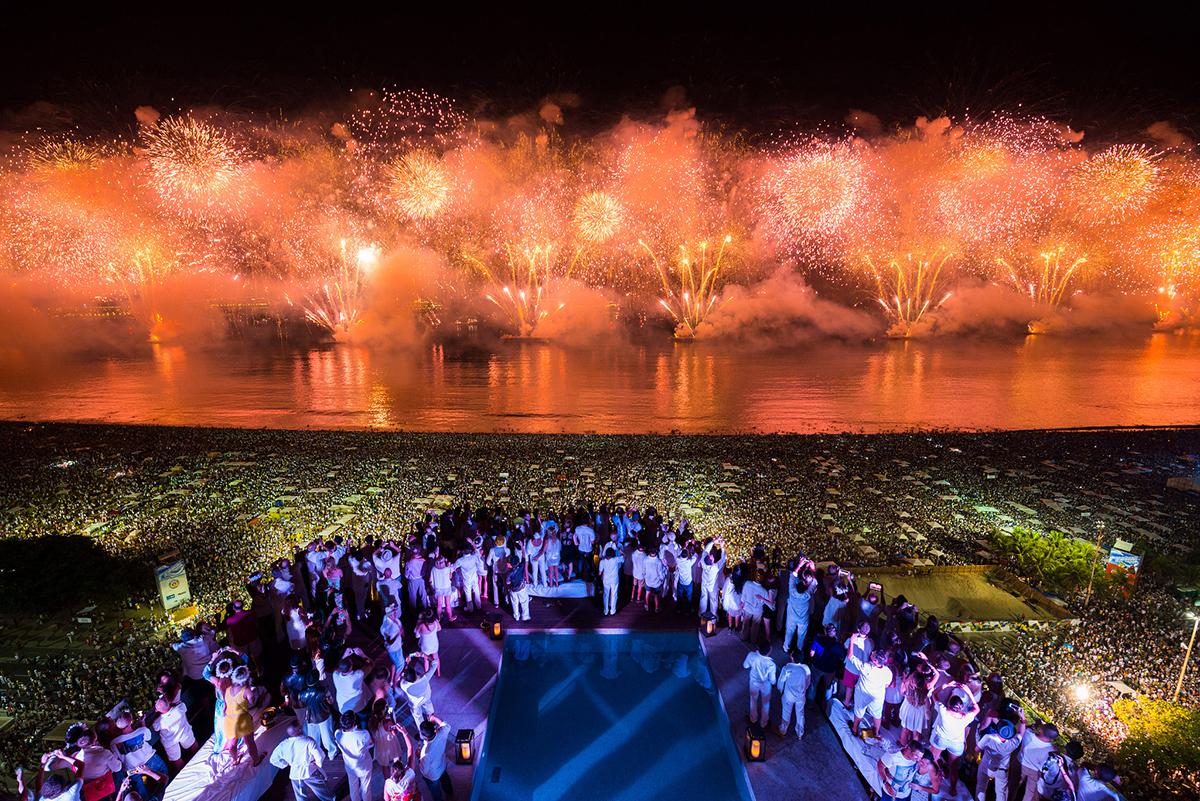 Новый год в Рио-де-Жанейро