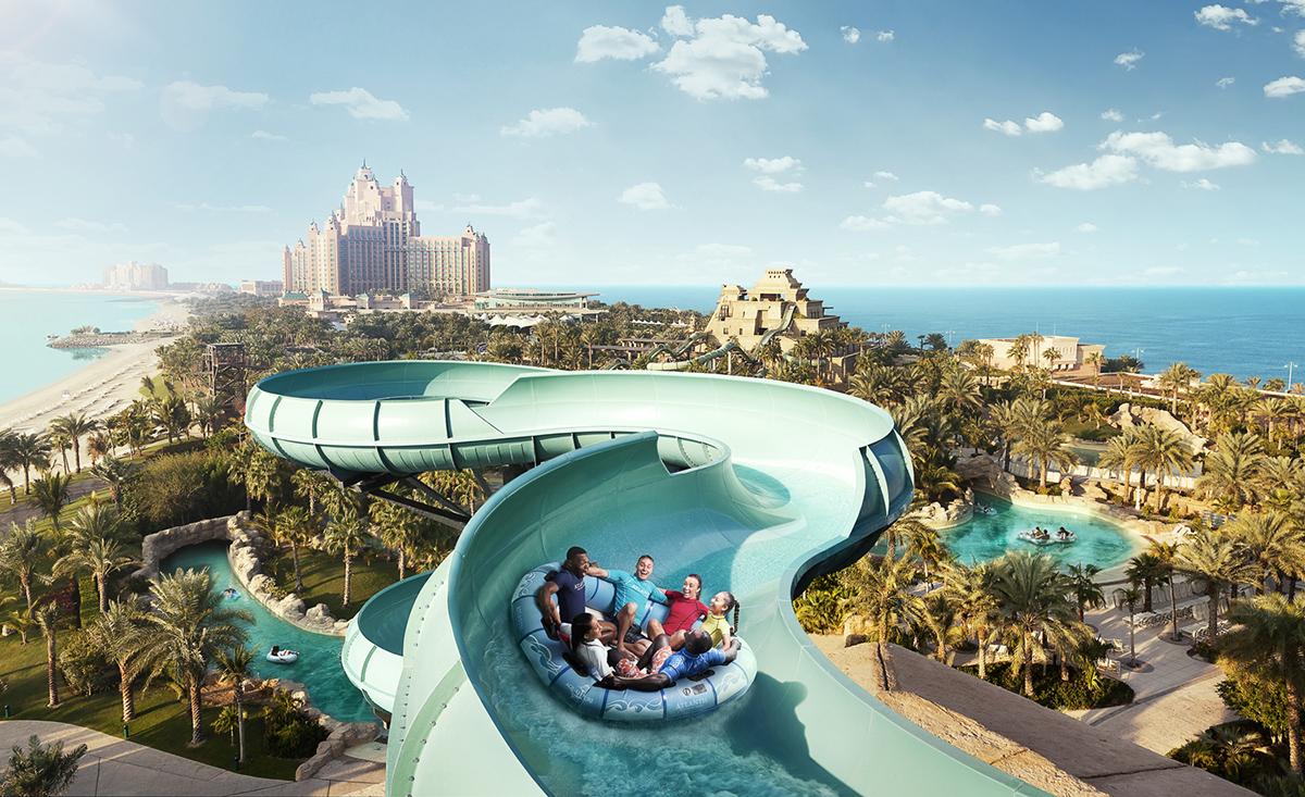 Аквапарк Аквавентуре В Дубаи