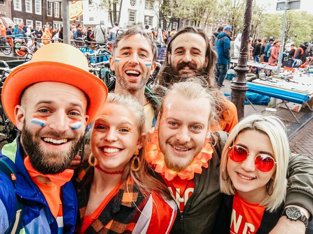 День короля, Амстердам