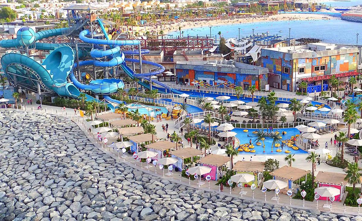 Аквапарк Лагуна в Дубаи