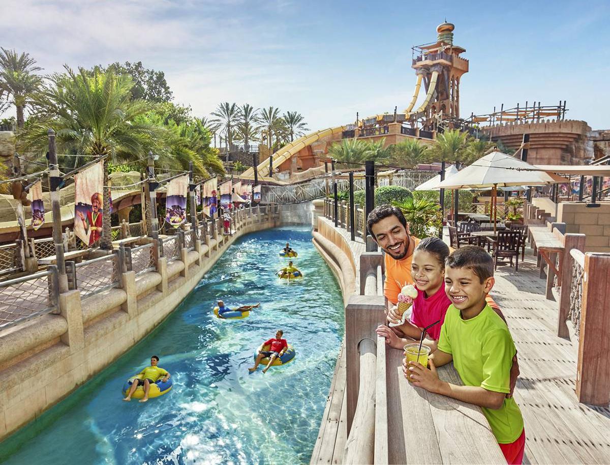 Аквапарк Вайлд Вади в Дубаи