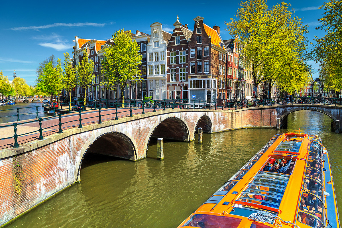 Амстердам – город мостов