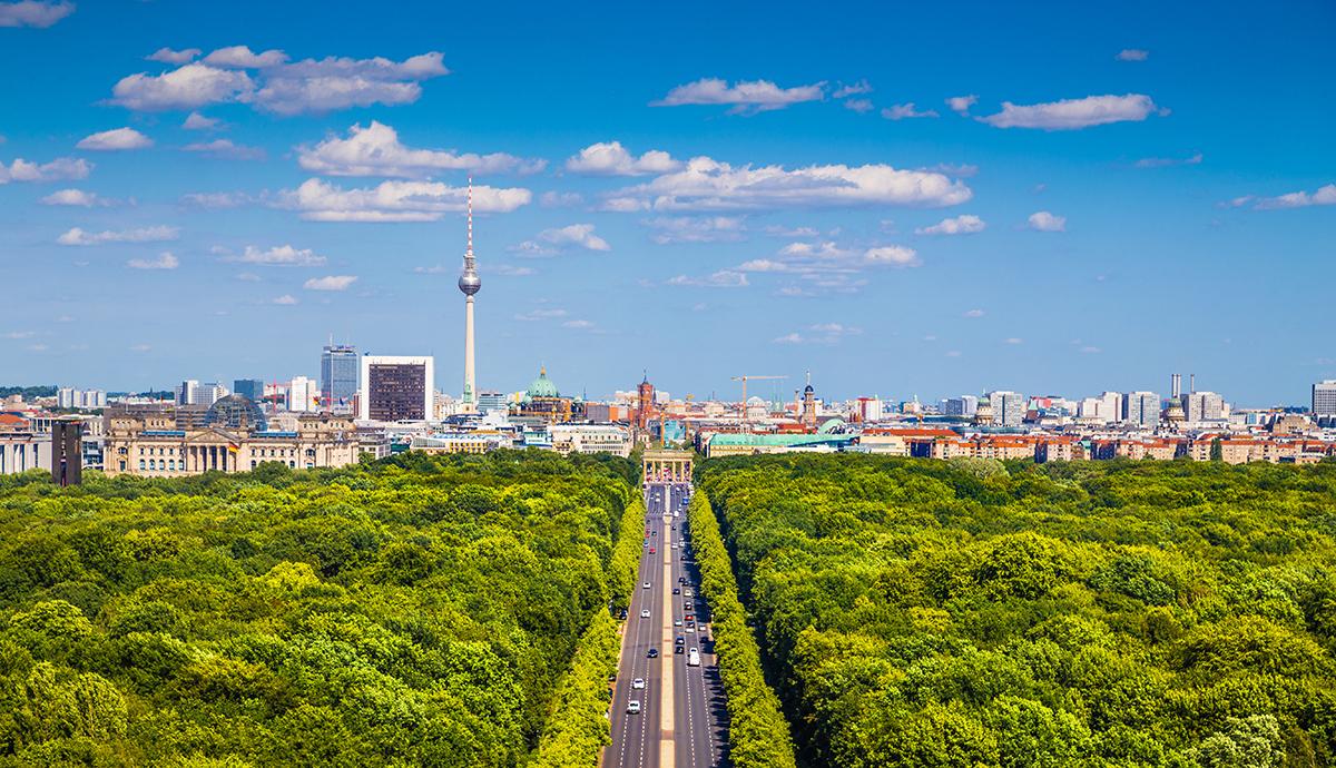 Парк Тиергартен в Берлине