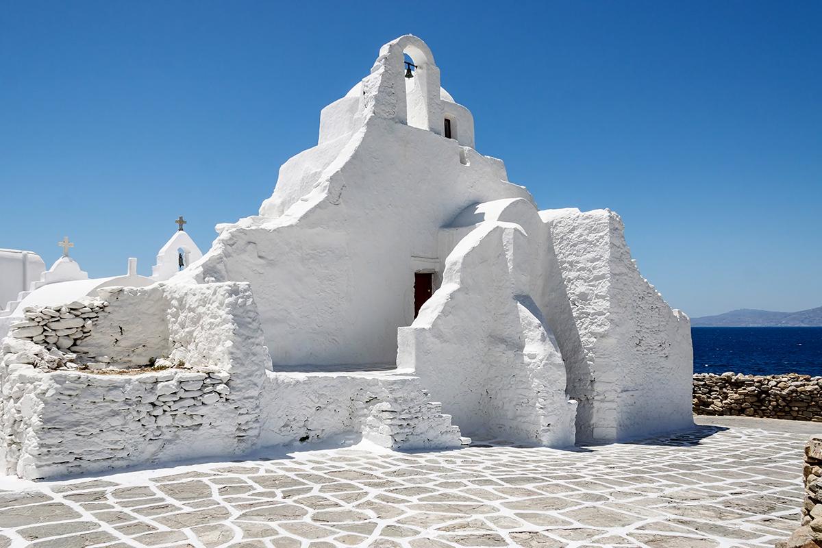 Парапортиани, Миконос