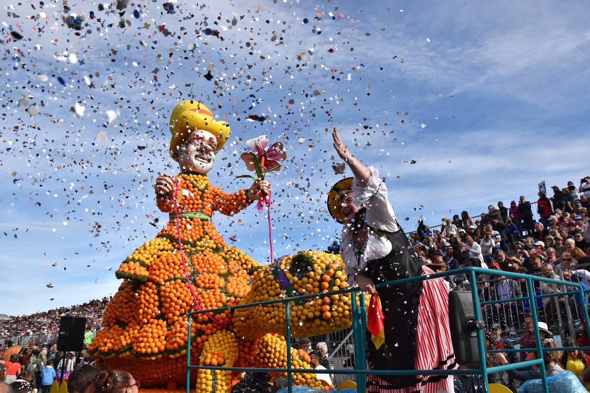 Карнавал в Ментоне