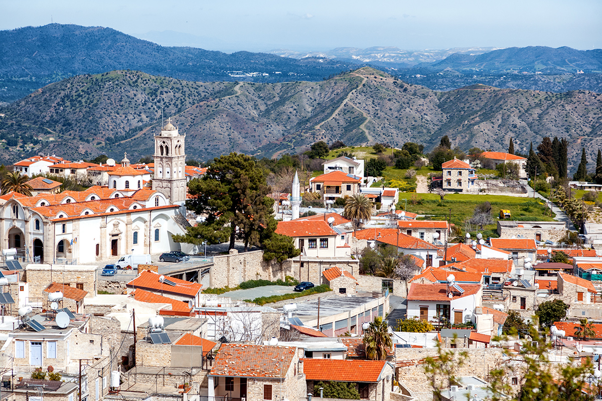 деревня Пано Лефкара, Ларнака, Кипр