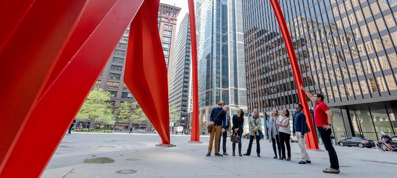 Экскурсия, организованная Чикагским архитектурным центром