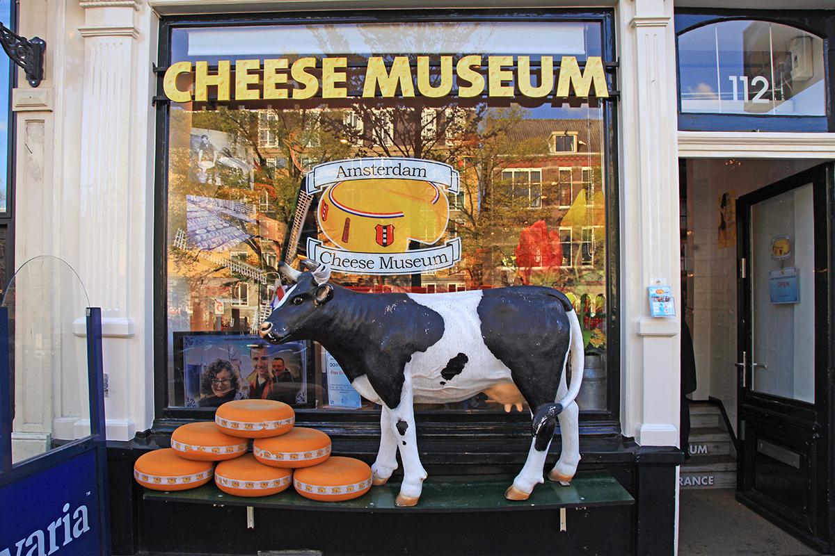 Музей сыра в Амстердаме