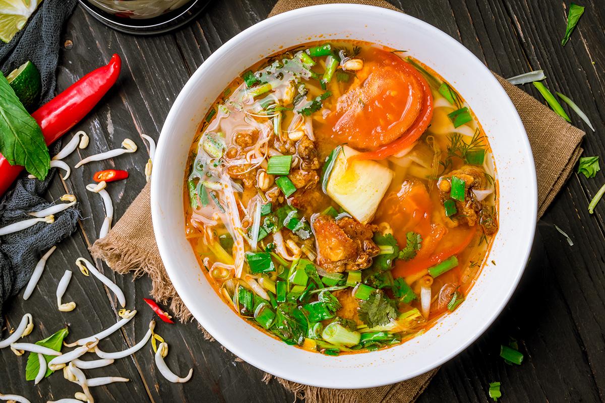 Вьетнамский суп Пхо