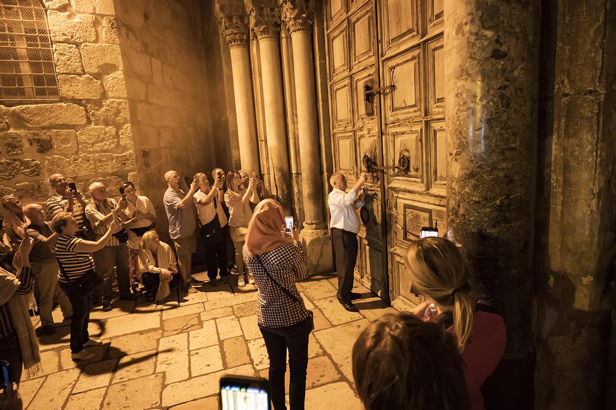 Ритуал закрытия дверей Храма