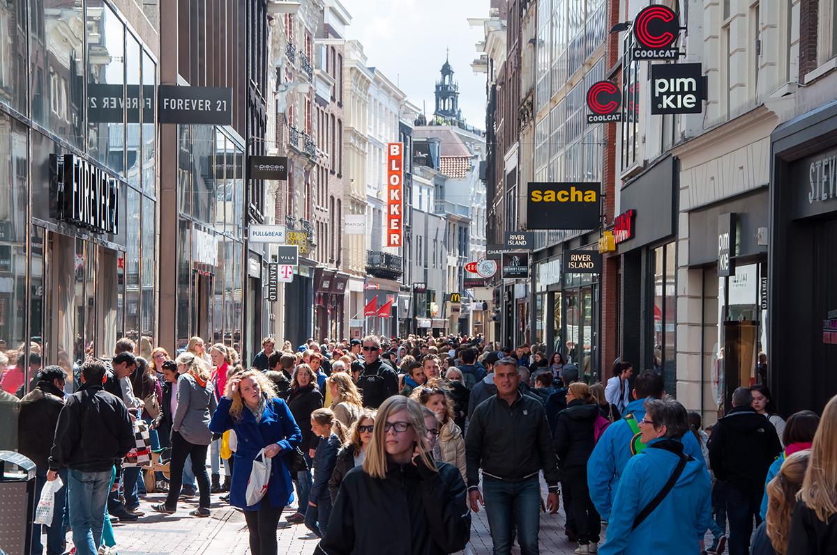 Улица Kalverstraat