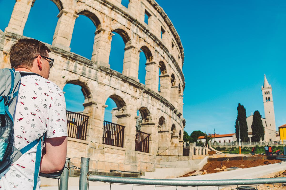 Римский колизей в Пуле