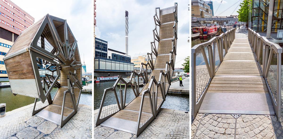 Мост-трансформер в Лондоне