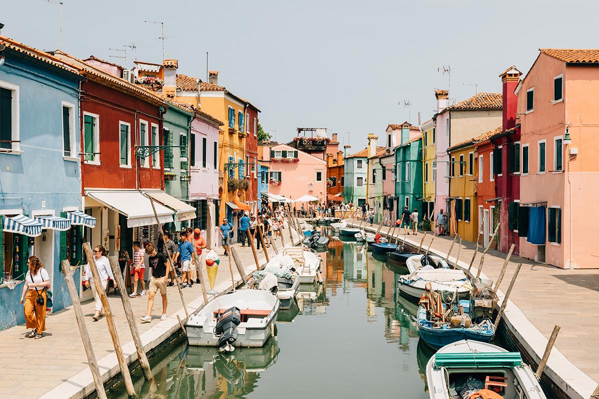 Бурано, Венеция, Италия