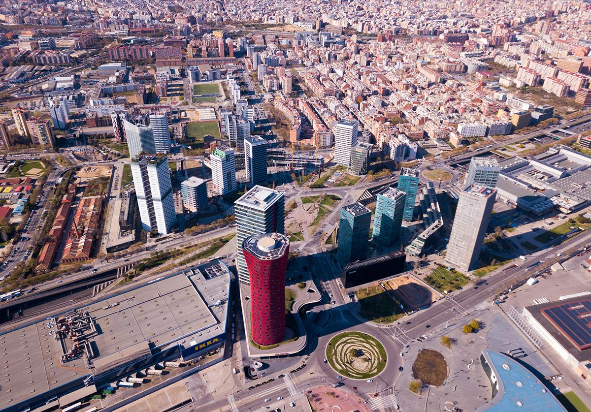 Площадь Европы в Барселоне