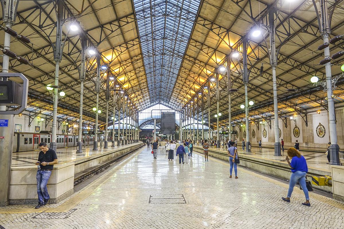 Вокзал Росиу в Лиссабоне
