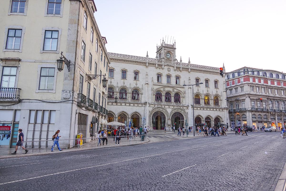 Вокзал Россио в Лиссабоне